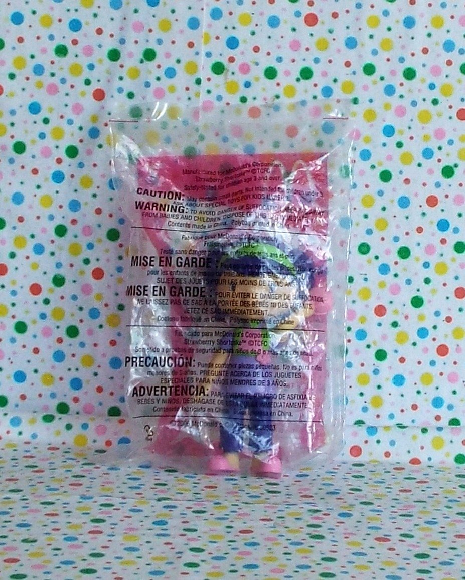 McDonalds Strawberry Shortcake 2006 Tea Blossom Doll