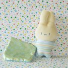 Fisher Price Newborn Rock n' Play Sleeper Bunny Plush Crib Toy