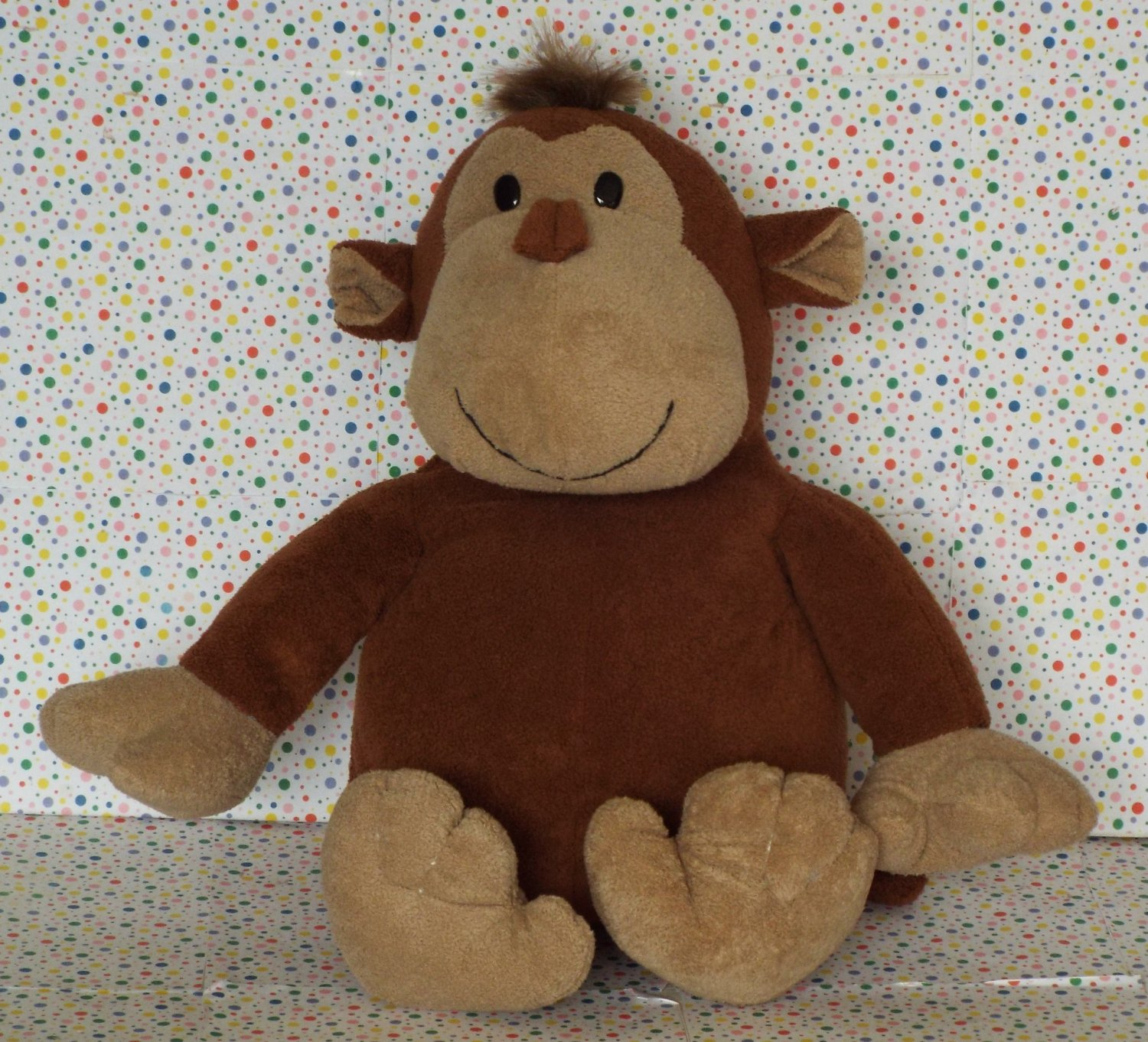 *9/15*SOLD~Toys R Us Animal Alley Chimp Monkey Stuffed Animal Lovey