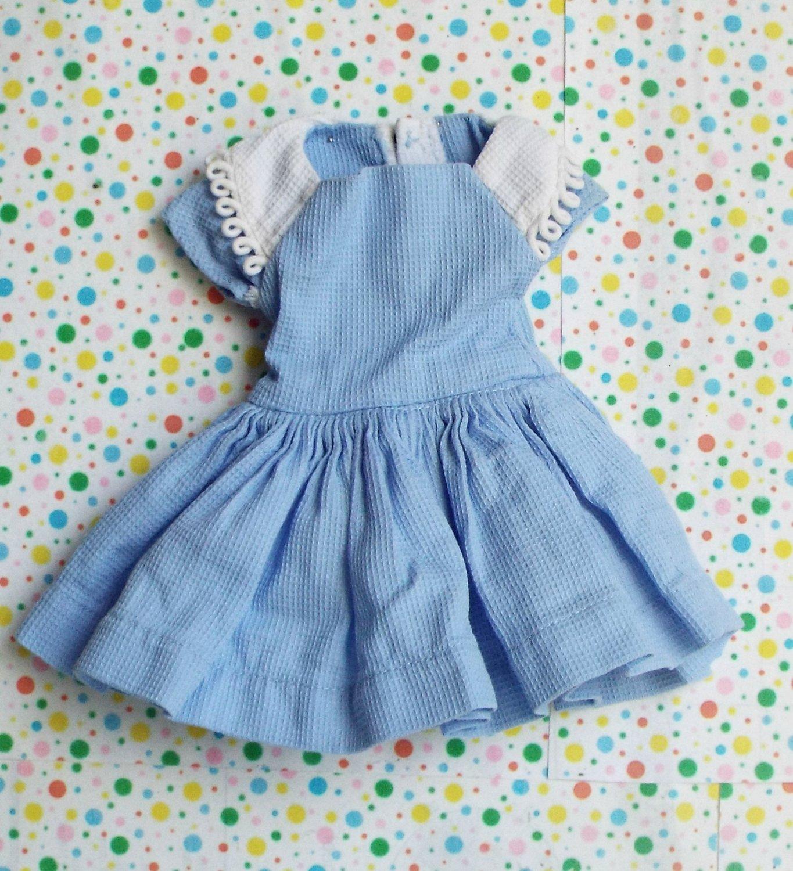 Vintage Revlon? Doll Clothes Blue Dress