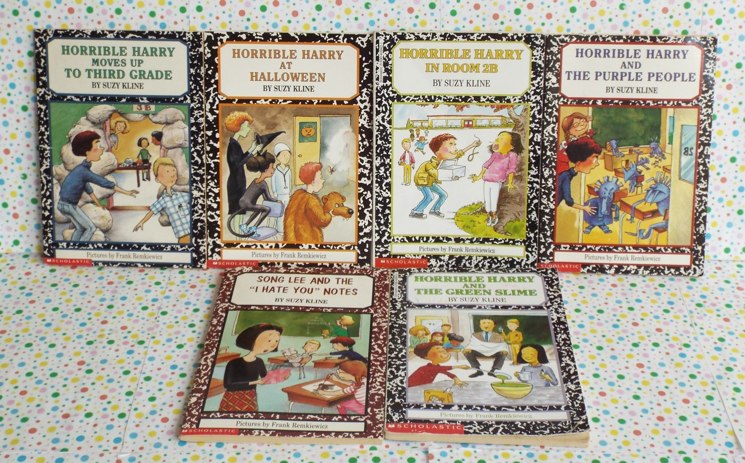 Horrible Harry Books Boys Chapter Book Lot of 6