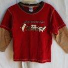 Boys Gymboree 3T  Yukon Dog Race Longsleeve Shirt