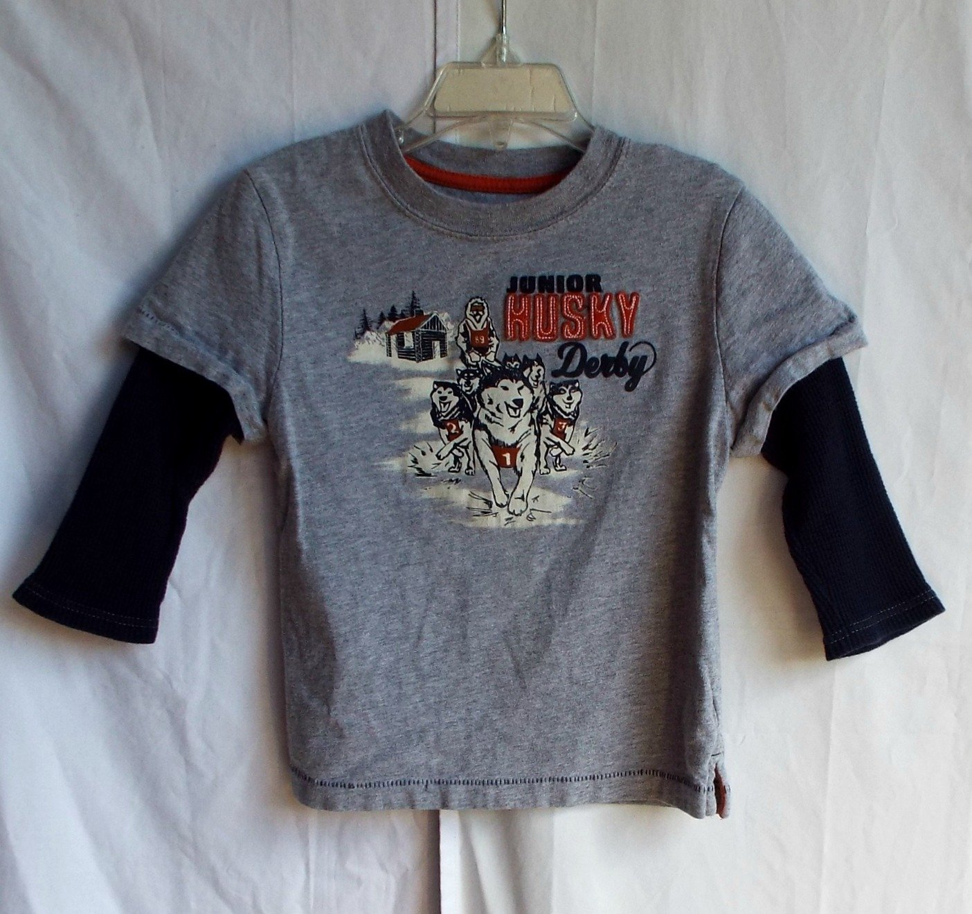 Boys Gymboree 3T  Junior Husky Race Longsleeve Shirt