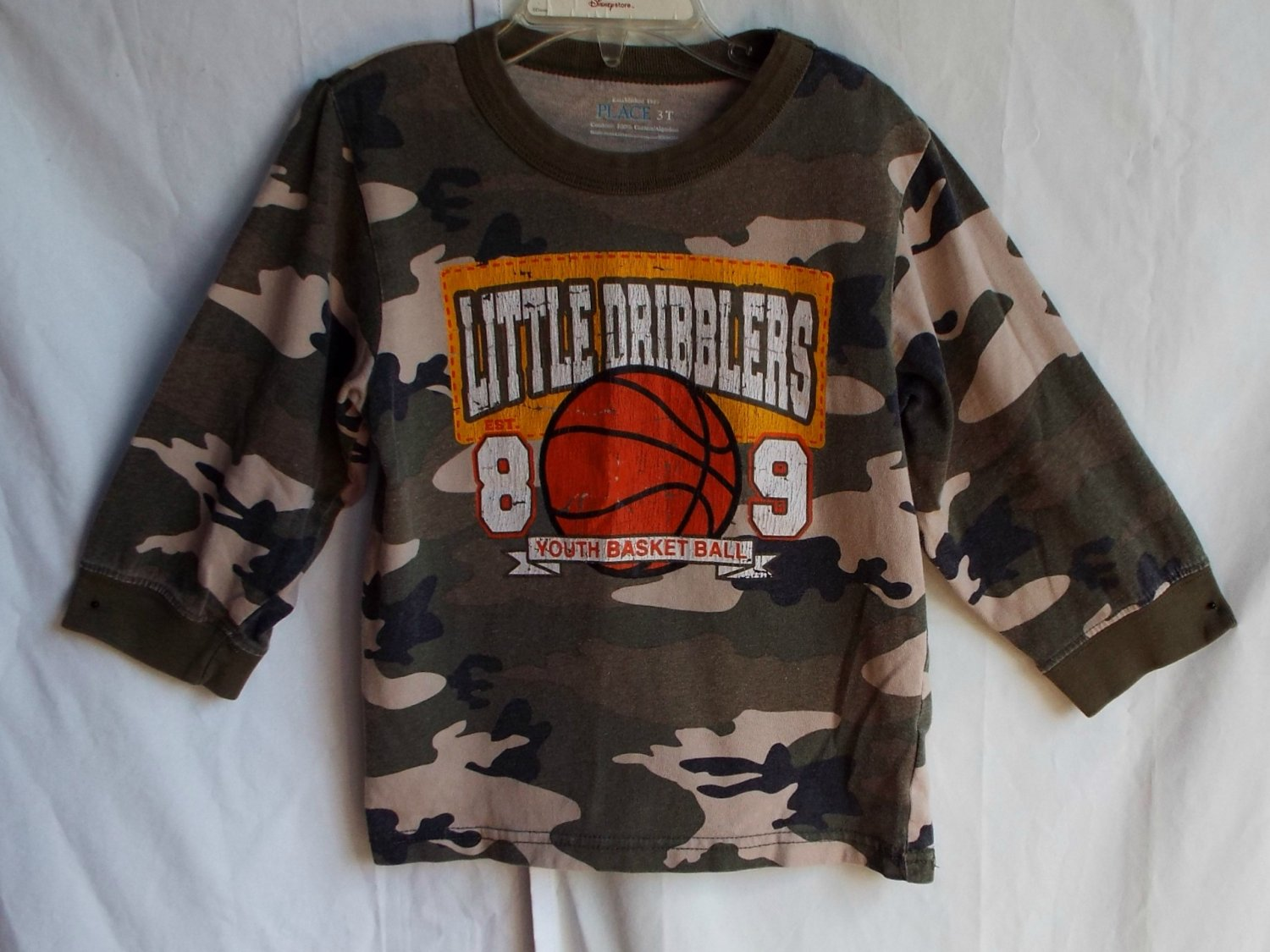 Boys Children's Place 3T Little Dribblers Longsleeve Shirt TCP