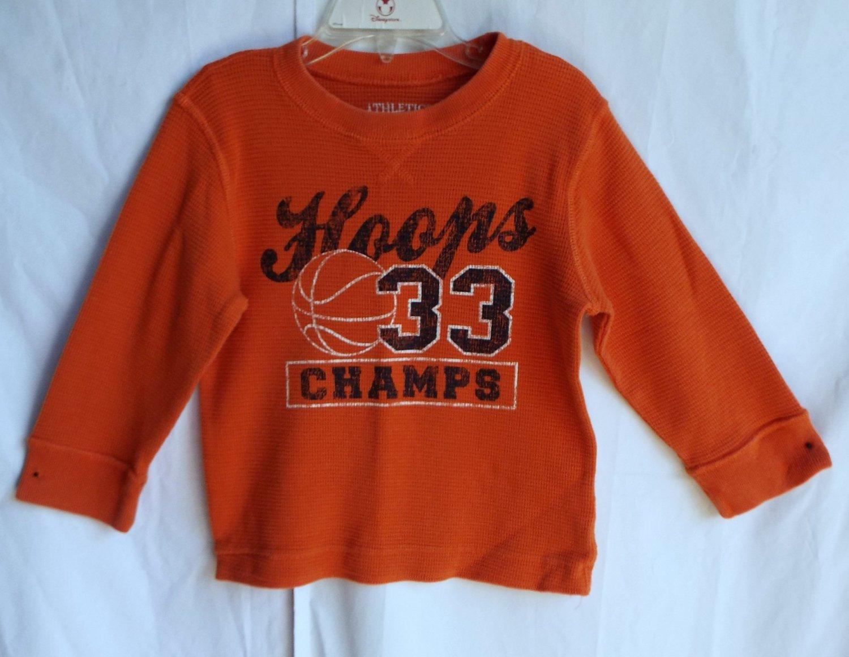 Boys Children's Place 3T Hoops Basketball Longsleeve Shirt TCP