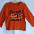 Boys Children's Place 3T Hoops Basketball Longsleeve Shirt TCP