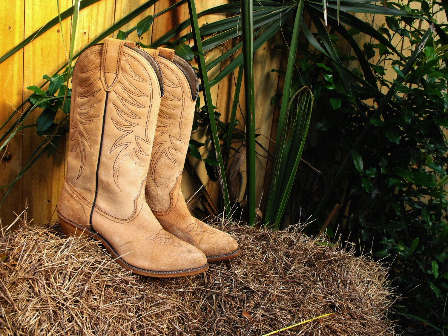 Vintage Wolverine Western Women's Cowboy Boots Cowgirl Boots Size 6 M