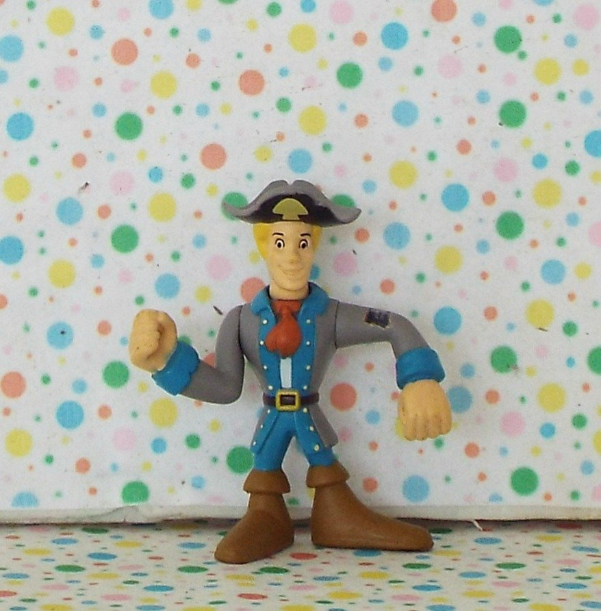 Scooby Doo Shiver Me Timbers Pirate Fred Figure