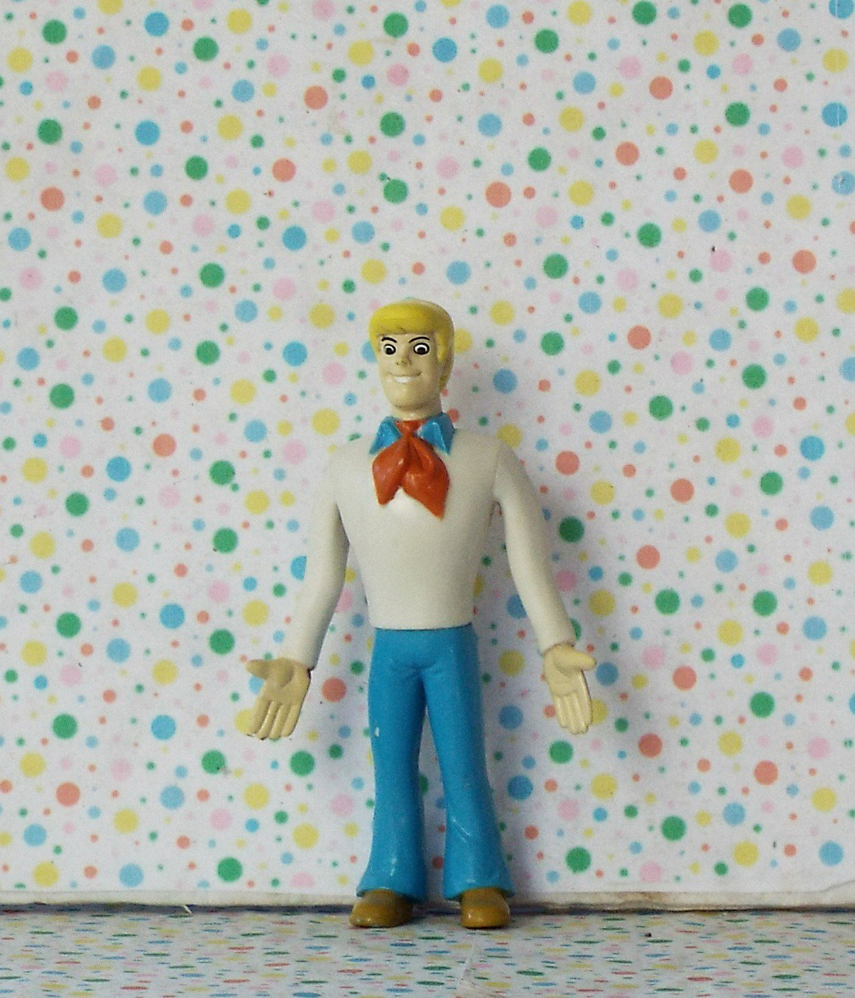 Scooby Doo Bendable Fred Figure