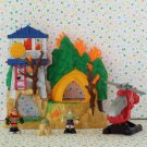 Fisher Price Rescue Heroes Micro Adventures Fire Down Under Playset
