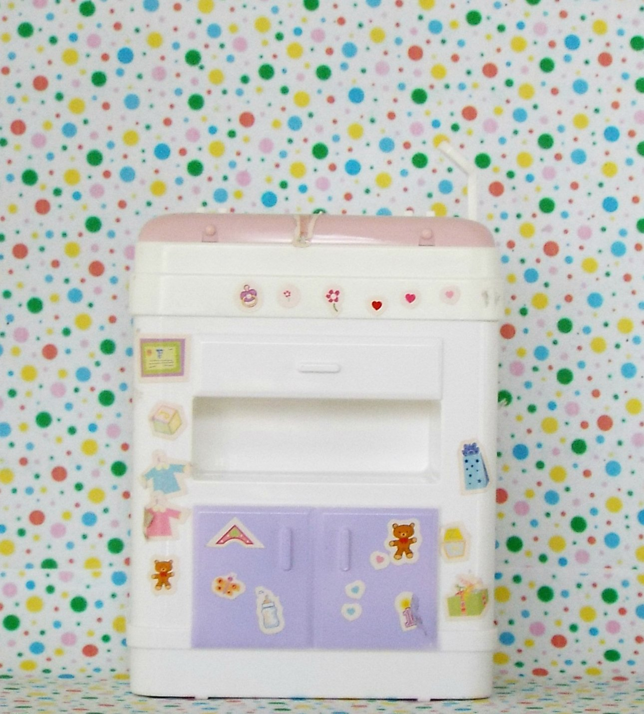 Barbie Happy Family Baby Doctor Bassinet Cabinet Part