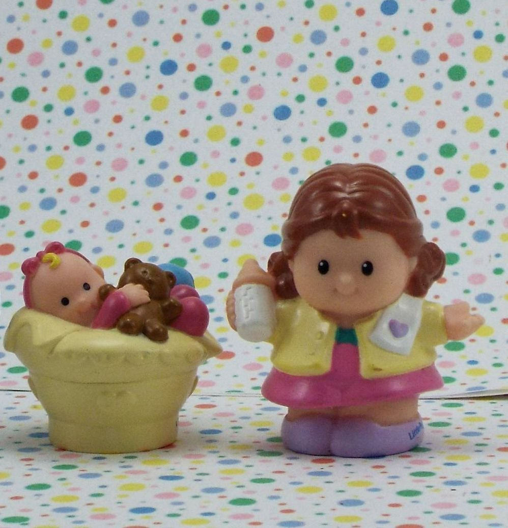 Fisher Price Little People Busy Day Home Mom and Baby  Part