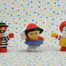 Fisher Price Little People McDonald's Figure Set