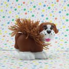 Fisher Price Little People Mia and Her On-The-Go-Grooming Dog  Part