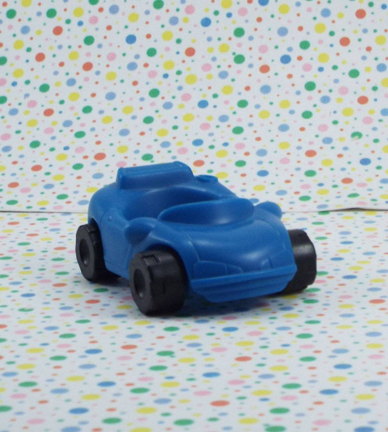 Fisher Price Little People Action Ramps Garage Blue Car