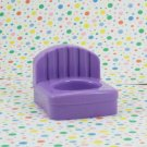 Fisher Price Little People Happy Sounds Home Purple Chair Part