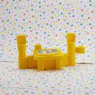 Fisher Price Little People Stack N' Crash Work Site Fence Desk Part