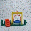 Fisher Price Little People Time to Learn Preschool Playground Swing Part