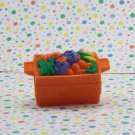 Fisher Price Little People Orange Food Crate Part