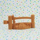 Fisher Price Little People Farm Animals and Pals Brown Fence Part