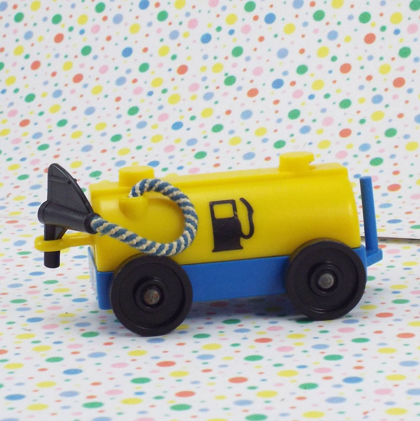 Vintage Fisher Price Little People Airport Fuel Car Part