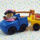 Fisher Price Little People Lil Farmers Market Sonya Lee Farm Truck