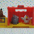 Fisher Price Little People Baby Animal Nest