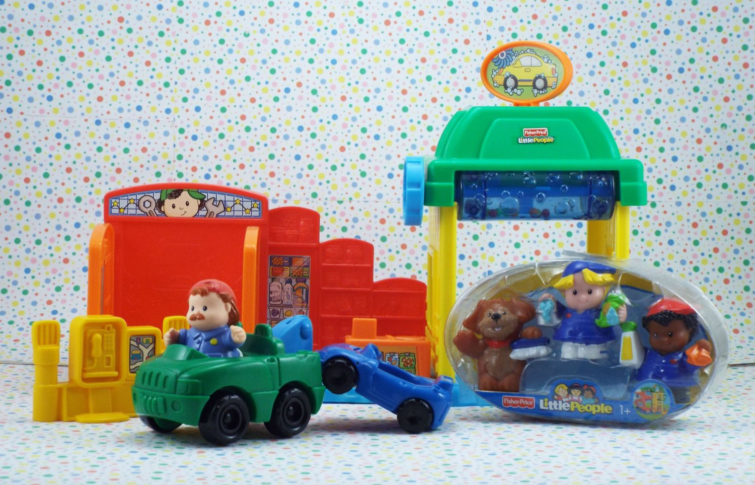 Fisher Price Spin And Sparkle Car Wash