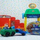 Fisher Price Little People Spin n' Sparkle Car Wash Lot