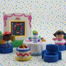 Fisher Price Little People Birthday Party Play Set