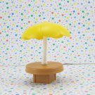 Fisher Price Little People Main Street Umbrella Table Part