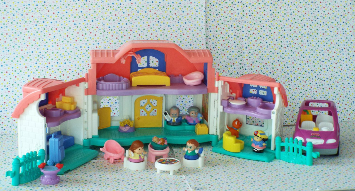 Fisher Price Little People Sweet Sounds Home Little People ...