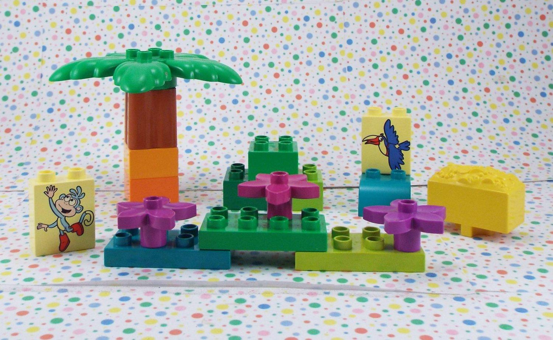 Lego Duplo Dora the Explorer Treasure Island Parts Lot