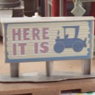 Disney Cars Radiator Springs Curio Shop Here It Is Sign Replacement