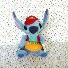 Disney Store Stitch Pizza Delivery Stuffed Animal