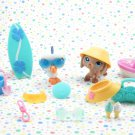 Littlest Pet Shop Seaside Celebration Lot LPS