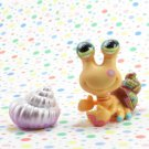 Littlest Pet Shop #1008 Hermit Crab ~ LPS Postcard Pets Series 2