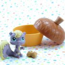 Littlest Pet Shop #999 Squirrel ~ LPS Hungriest