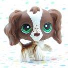 Littlest Pet Shop #156 Springer Cocker Spaniel Dog ~ LPS Carrying Case Pet