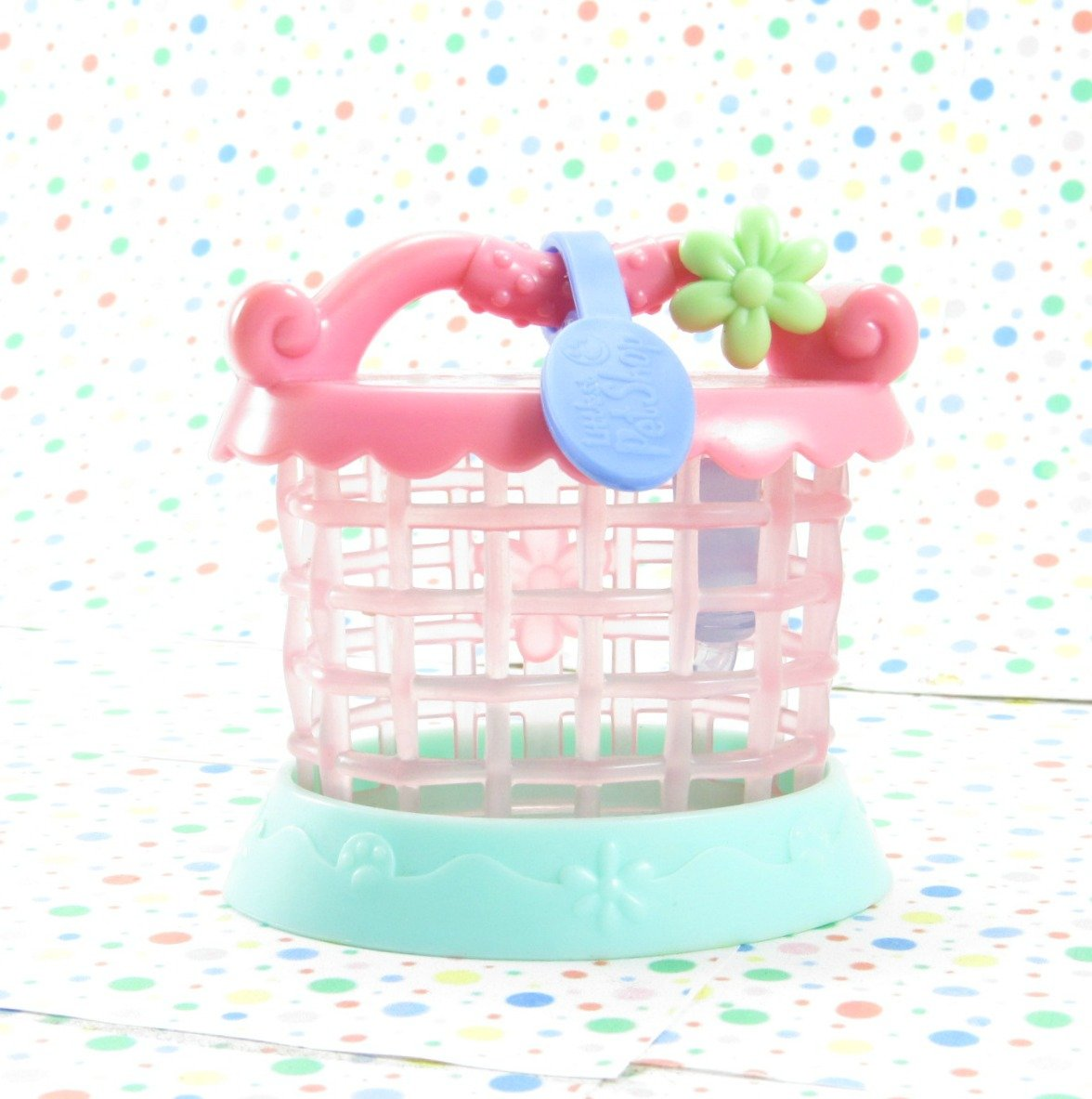 Littlest Pet Shop Portable Pets #95 Rabbit Cage