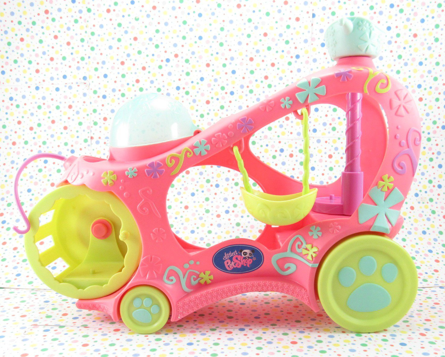 Littlest Pet Shop Paw Powered Cruiser