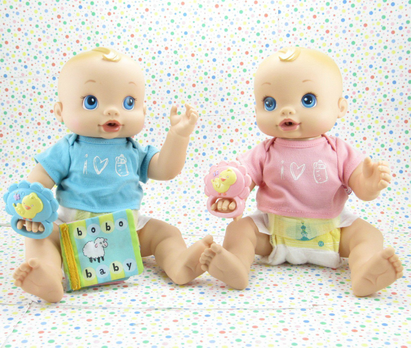 12 16 Sold Baby Alive Wets And Wiggles Twins 2006 Baby