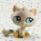 Littlest Pet Shop #1364 Cream Tabby Cat ~LPS Multi-pack 2006