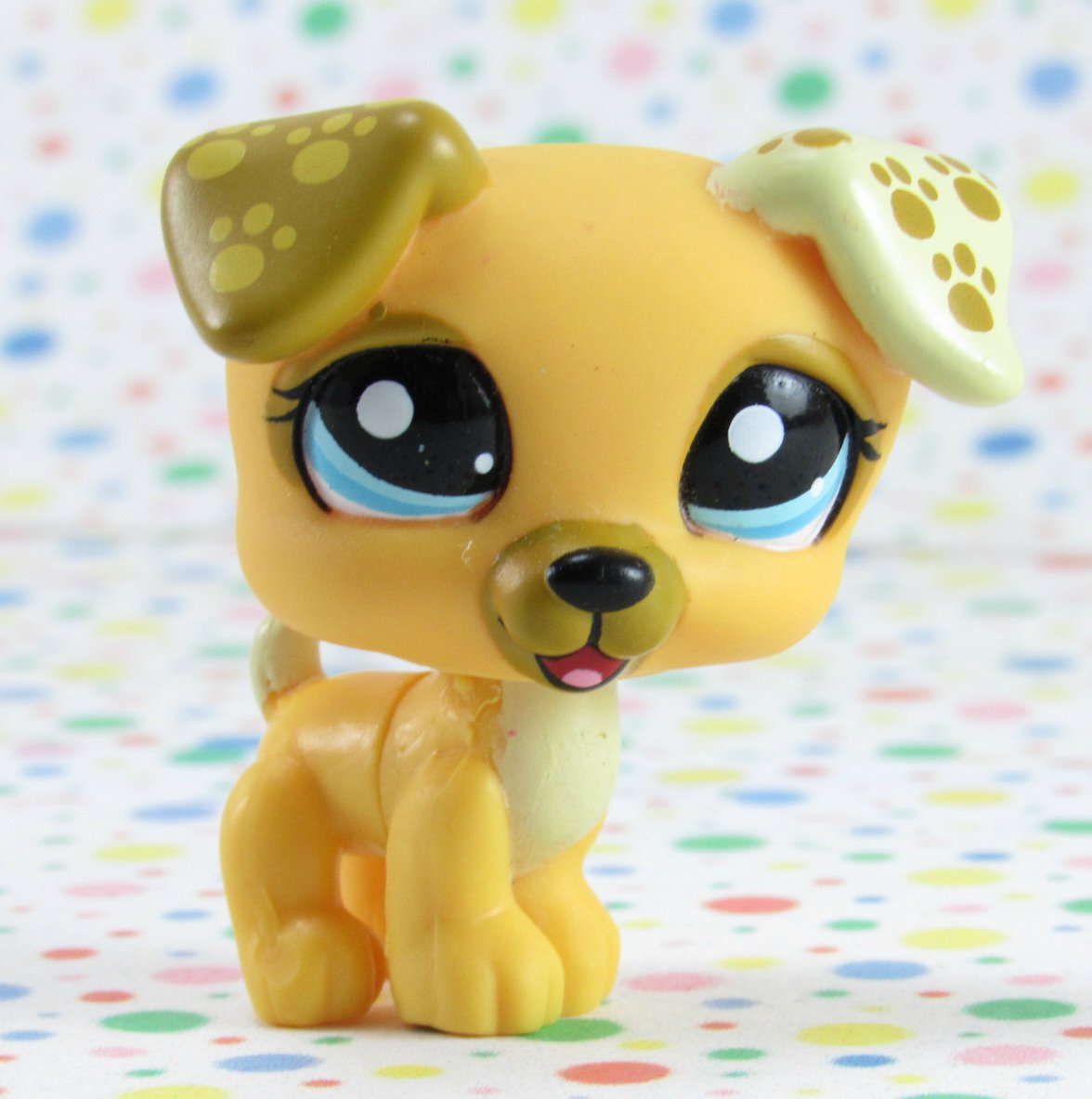 Littlest Pet Shop #1496 Jack Russell Dog ~ LPS Target Welcome Pets