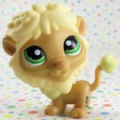 Littlest Pet Shop #1576 Tan and Yellow Lion ~ LPS Collectors Pack #2