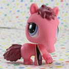 Littlest Pet Shop #2581 Pink and Maroon Anteater~ LPS Cutest Pets