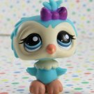 Littlest Pet Shop #1569 Blue Owl  ~ LPS Collector's Pack