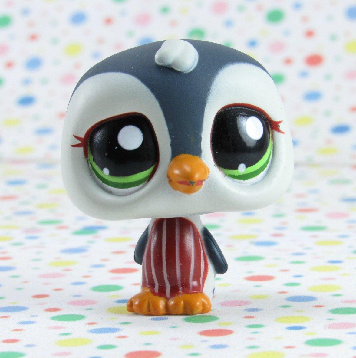Littlest Pet Shop #1494 Gray Penguin   ~ LPS Target Collector's Pack