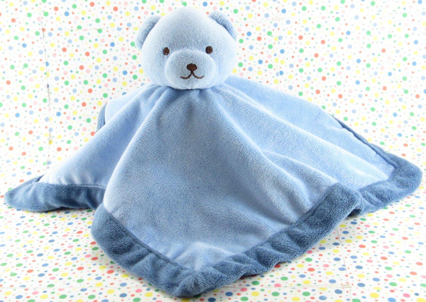 Tiddliwinks Blue Bear Blanket Bear Security Blanket Lovey