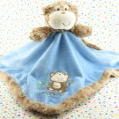 Baby Starters Blue Monkey Rattle Security Blanket Lovey